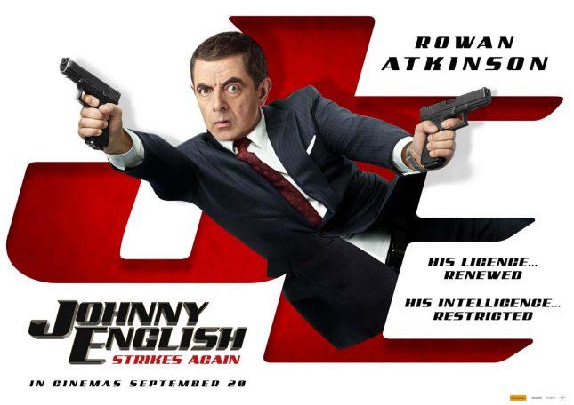 Johnny English Strikes Again จอห์นนี่ อิงลิช พยัคฆ์ร้าย ศูนย์ ศูนย์ ก๊าก รีเทิร์น 2018