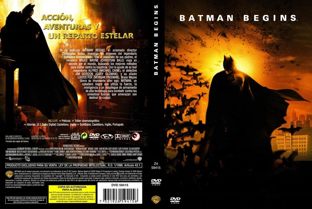 Batman Begins แบทแมน บีกินส์ 2005