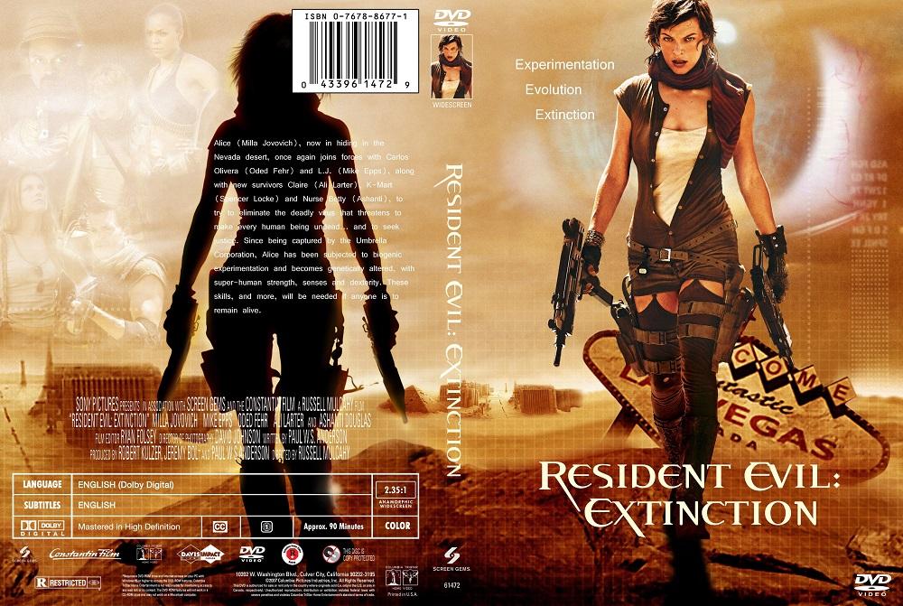 Resident Evil 3 Extinction ผีชีวะ 3 สงครามสูญพันธุ์ไวรัส 2007