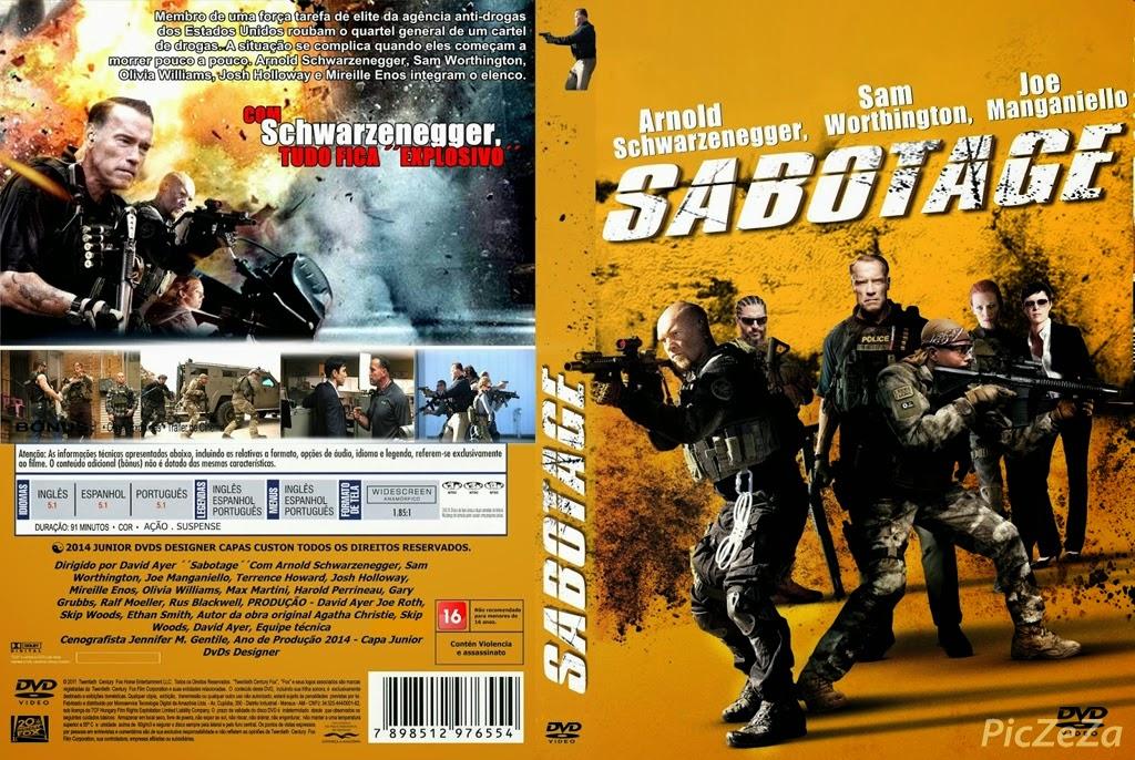 Sabotage คนเหล็กล่านรก 2014