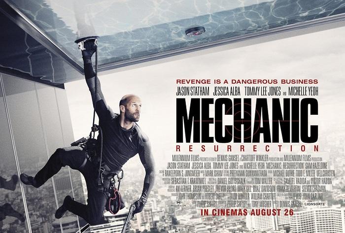 Mechanic Resurrection โคตรเพชฌฆาต แค้นข้ามโลก 2016