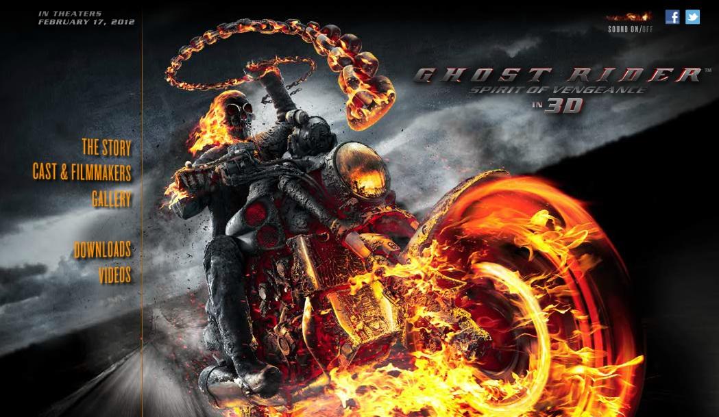 Ghost Rider- Spirit of Vengeance โกสต์ ไรเดอร์ อเวจีพิฆาต ภาค 2 (2011)