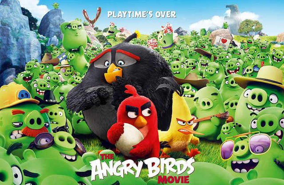 The Angry Birds Movie แอ็งกรี เบิร์ดส เดอะ มูวี่ (2016)