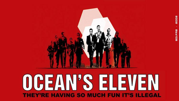 Ocean's Eleven 11 คนเหนือเมฆ ปล้นลอกคราบเมือง (2001)