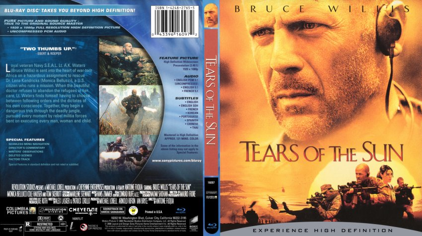 Tears of the Sun ฝ่ายุทธการสุริยะทมิฬ HD (2003)