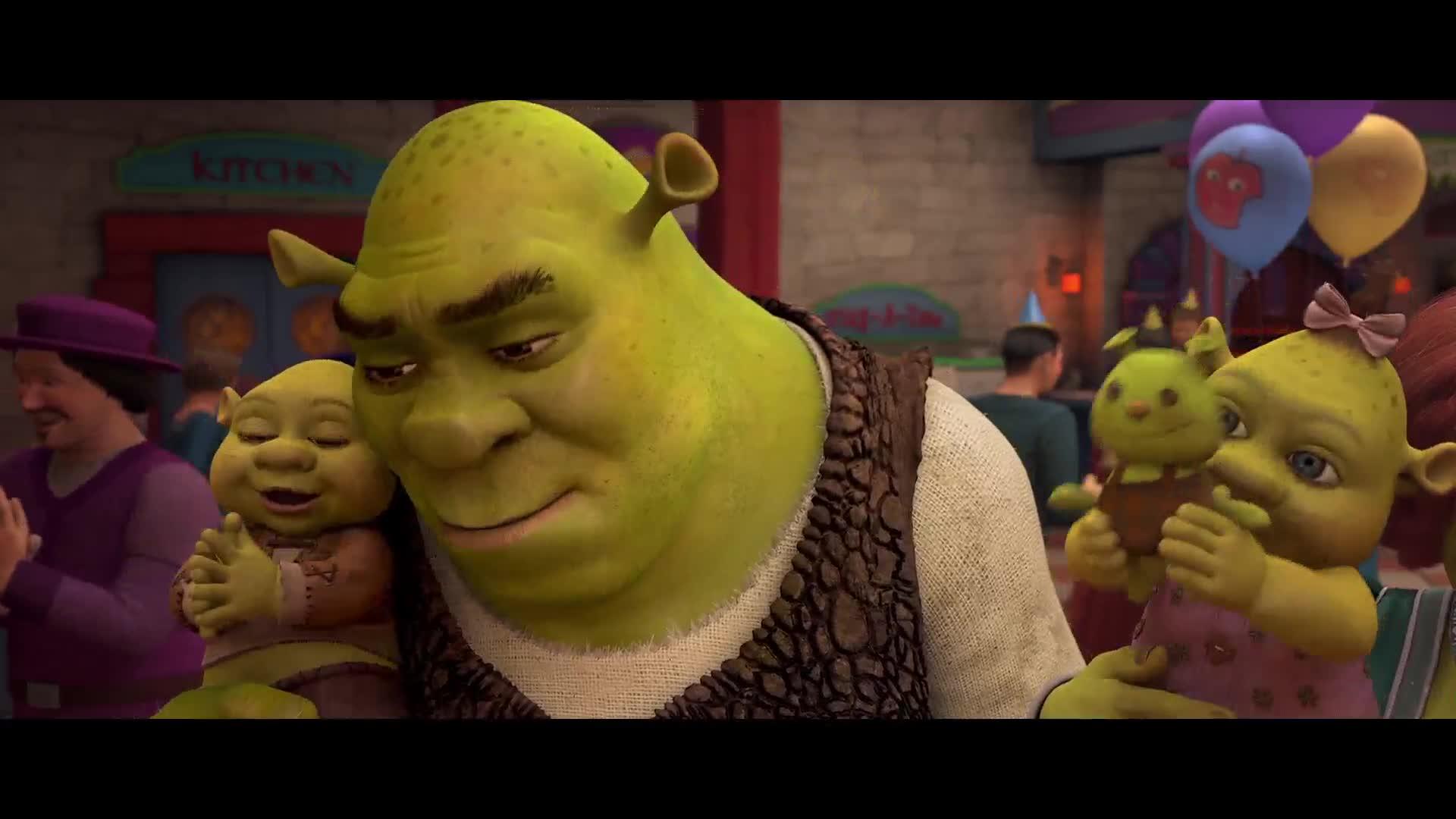 Shrek 4 เชร็ค 4 สุขสันต์ นิรันดร (2010)