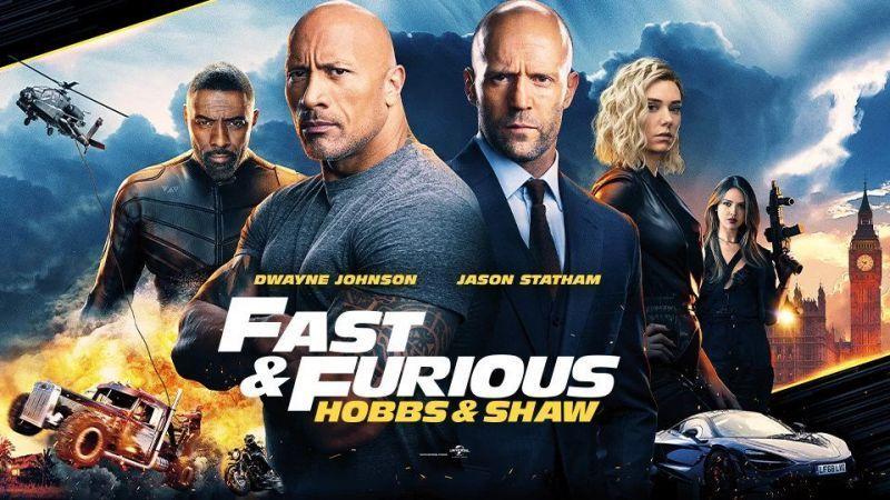 Fast & Furious Presents Hobbs & Shaw เร็ว แรงทะลุนรก ฮ็อบส์ & ชอว์ (2019) HD