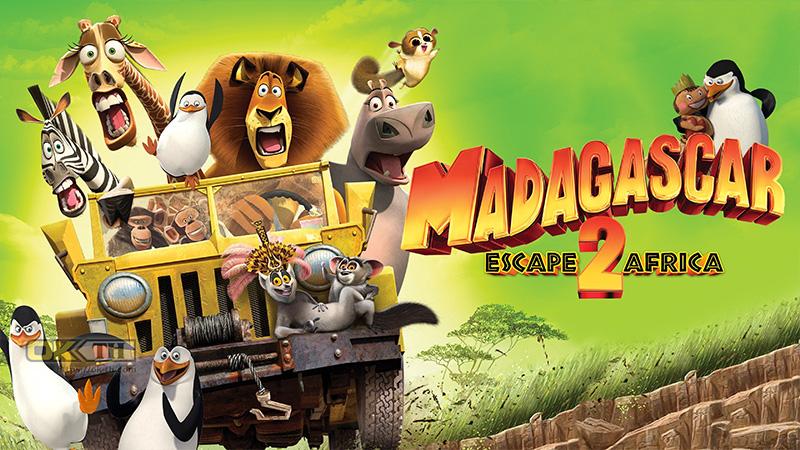Madagascar 2 Escape Africa มาดากัสการ์ 2 ป่วนป่าแอฟริกา (2009)