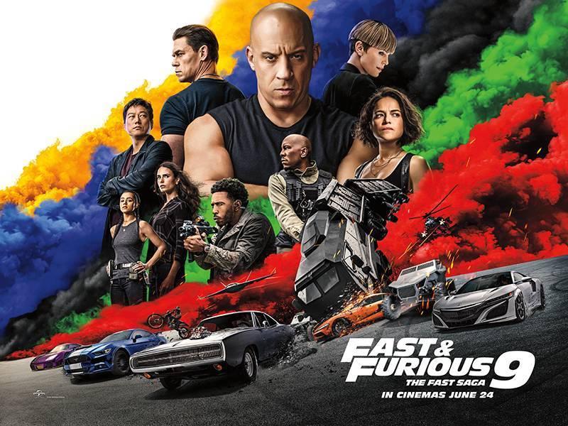 Fast 9 Fast & Furious 9 F9 เร็ว.. แรงทะลุนรก 9 (2021) บรรยายไทย
