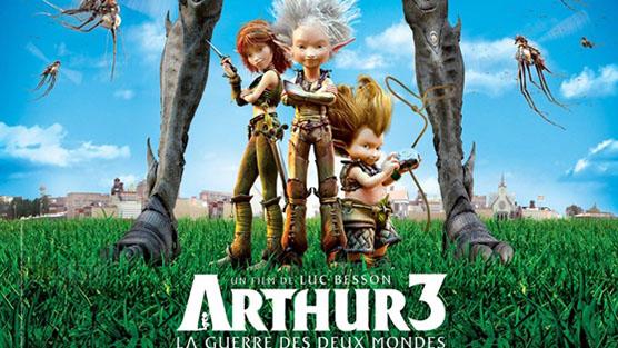 Arthur 3 The War of the Two Worlds อาร์เธอร์ 3 ศึกสองพิภพมหัศจรรย์ (2010)